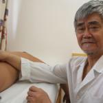 Maestrul Zhu Rong Fu, specialist în acupunctură