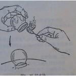 Aplicarea ventuzelor cu flacără